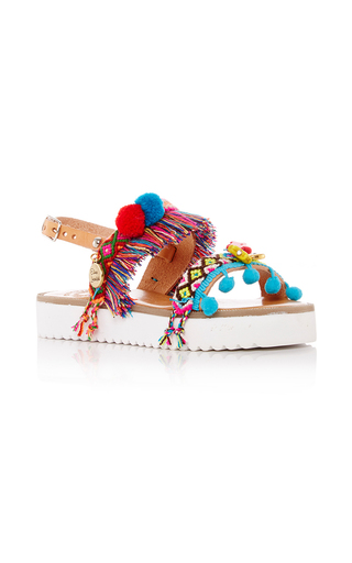 Medium elina linardaki multi children s jelly belly decorated sandal