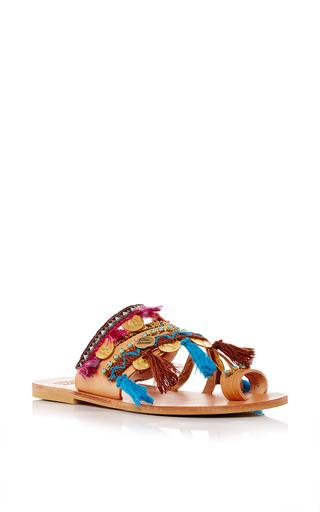 Medium elina linardaki multi marrakech decorated sandal