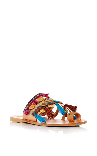 Medium elina linardaki multi marrakech decorated sandal