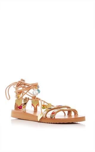 Medium elina linardaki multi stardust decorated sandal