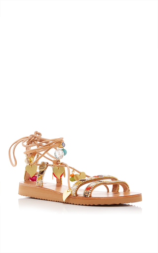 Medium elina linardaki multi stardust decorated sandal