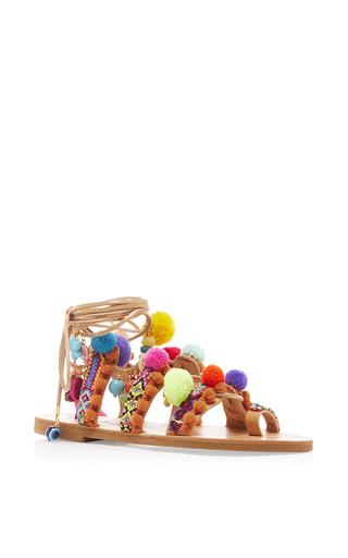 Medium elina linardaki multi penny lane decorated sandal