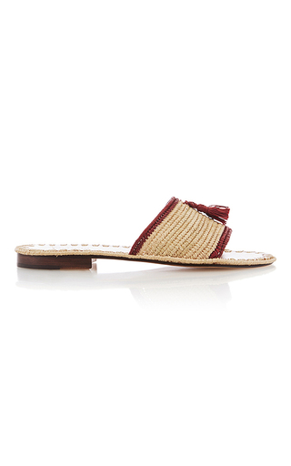 Medium carrie forbes multi adam pom pom flats 4