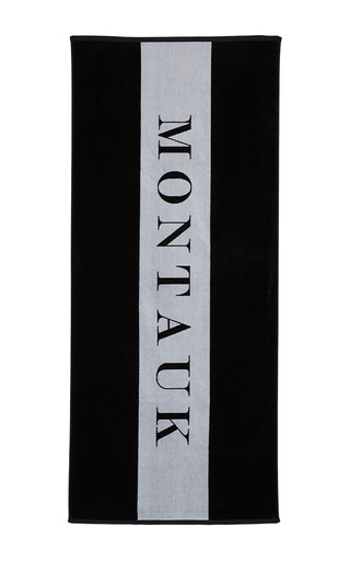Medium chance studio black white montauk towel