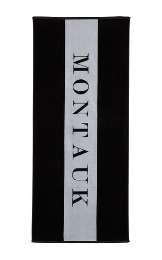 Medium chance studio black white montauk towel