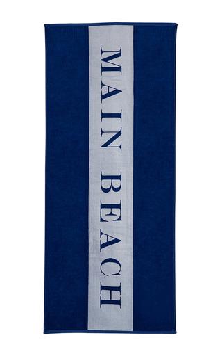 Medium chance studio blue main beach towel