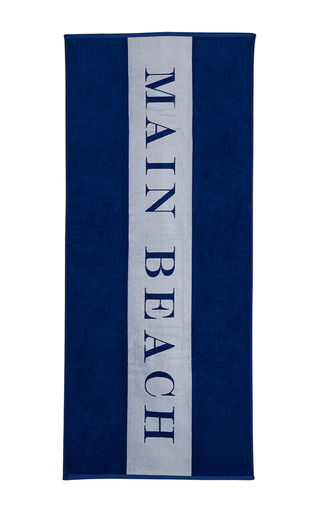 Medium chance studio blue main beach towel