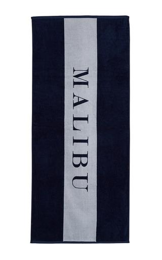 Medium chance studio navy malibu towel