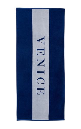 Medium chance studio blue venice towel