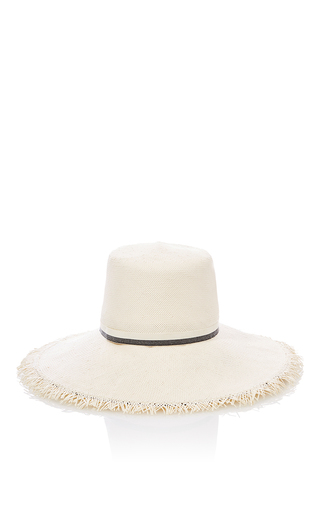 Medium ld carey white the lu lu hat