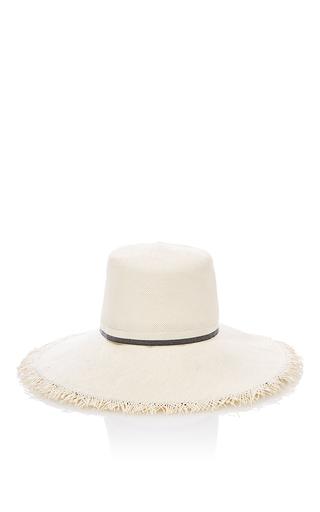 Medium ld carey white the lu lu hat