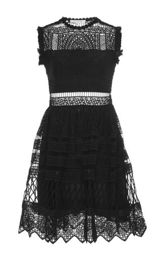 Medium alexis black sage mini dress