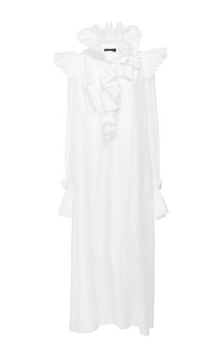 Medium nabil nayal white martha shirtdress