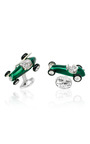 Race Car Cufflinks by DEAKIN & FRANCIS Now Available on Moda Operandi