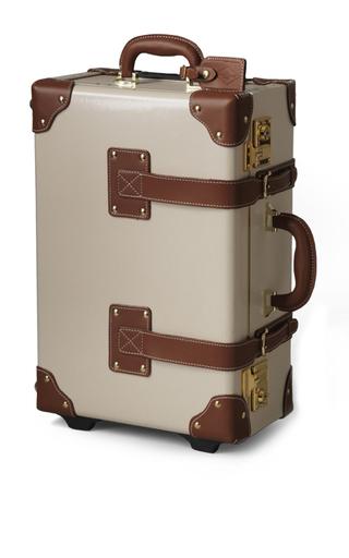 Medium steamline luggage nude the diplomat carry on