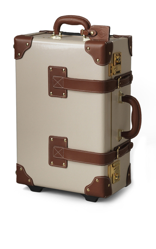 Medium steamline luggage nude the diplomat carry on