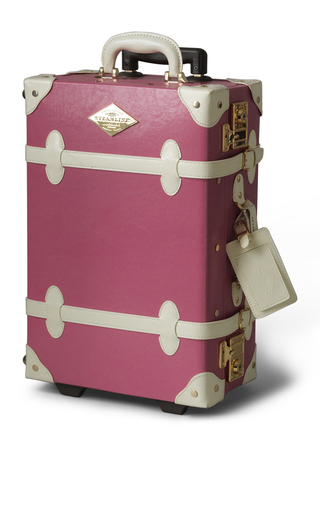 Medium steamline luggage pink the entrepreneur carry on