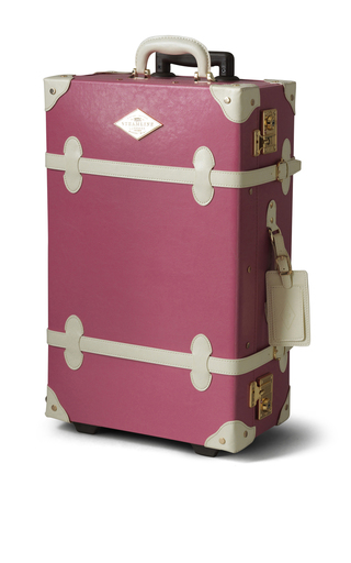 Medium steamline luggage pink the entrepreneur stowaway