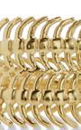 18 K Gold Baby Centipede Ring by DANIELA VILLEGAS Now Available on Moda Operandi