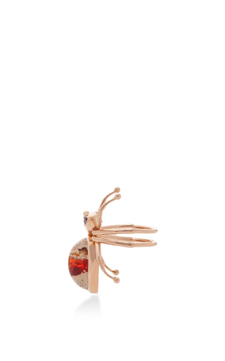 18 K Yellow Gold Mexican Spider Ring by DANIELA VILLEGAS Now Available on Moda Operandi