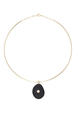 Medium cvc stones black one and only choker necklace