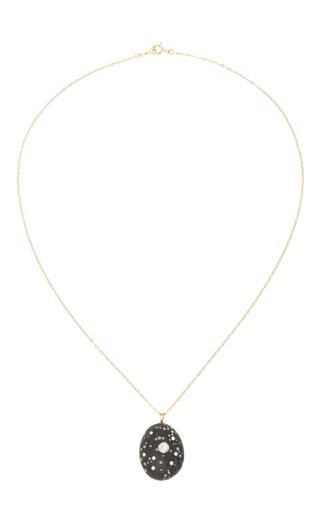 Medium cvc stones multi tartufo stone necklace