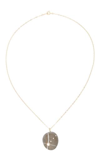 Medium cvc stones dark grey arethena stone necklace
