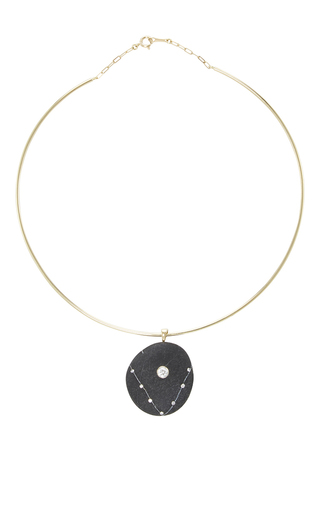 Medium cvc stones black victoire choker necklace