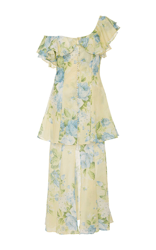 Medium alice mccall floral flawless off the shoulder dress