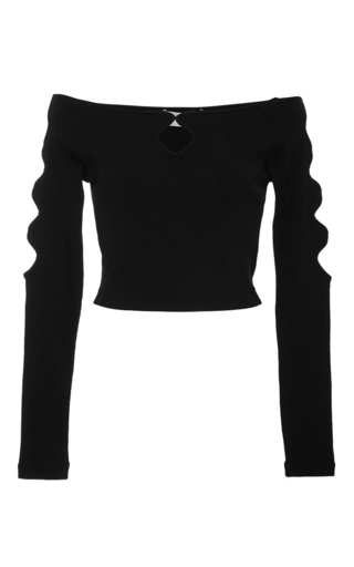 Medium alice mccall black xo top