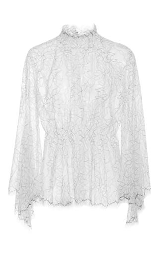 Medium alice mccall white love myself blouse