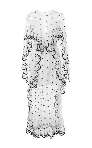 Medium alice mccall black white white seniorita dress