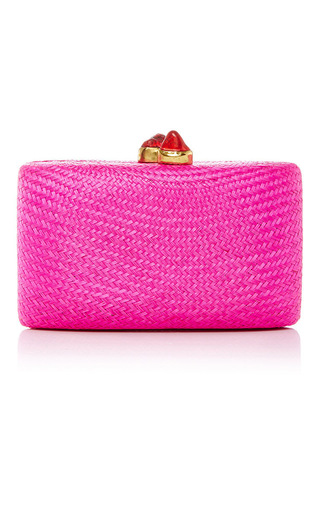Medium kayu pink jen clutch 14