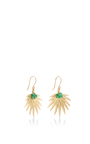 Palm Leaf Earrings by ANNETTE FERDINANDSEN Now Available on Moda Operandi