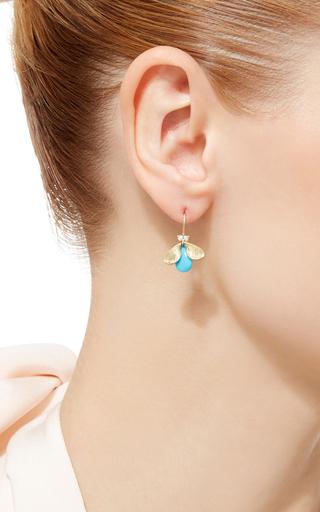 Bug Earrings by ANNETTE FERDINANDSEN Now Available on Moda Operandi