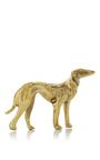 Brass Dog Paperweight by POGLIA Now Available on Moda Operandi