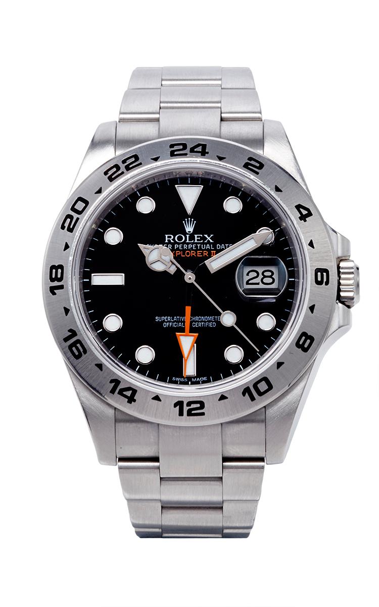 Stainless Steel Rolex Explorer II 42mm Watch, Model ...