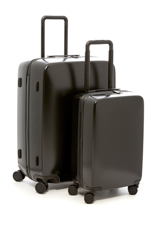 The A50 Luggage Set In Matte Black by RADEN Now Available on Moda Operandi