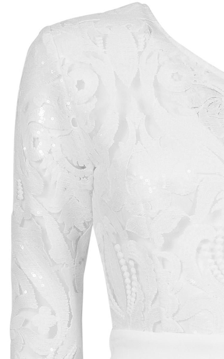 1dfdd7d023b9 Carla ZampattiOne Shoulder Lace Jumpsuit. CLOSE. Loading. Loading. Loading