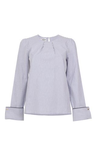 Medium baum und pferdgarten stripe manjari blouse