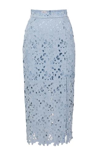 Medium baum und pferdgarten light blue faded denim sakiko lace skirt