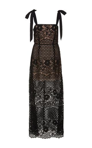 Medium alice mccall black secret lover lace midi dress