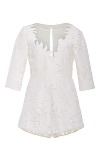 Medium alice mccall white rumours lace playsuit