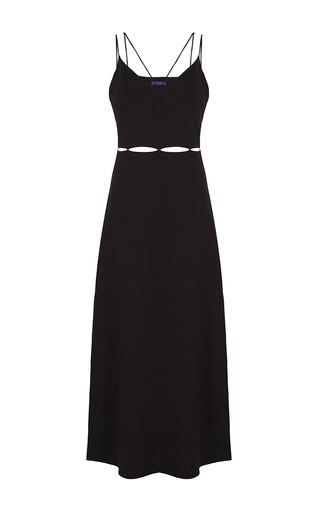Medium lilly sarti black strappy dress