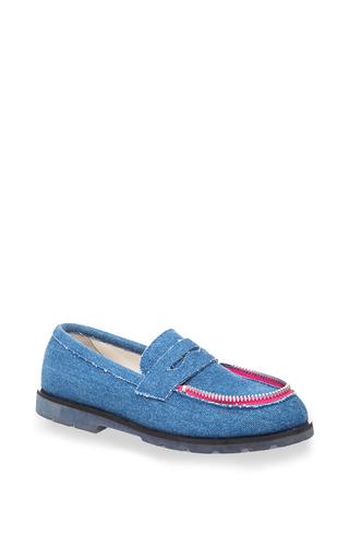 Medium ketevane maissaia blue blue jeans le mocassin zippe
