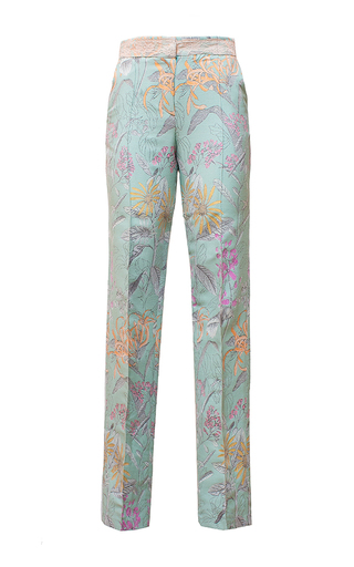 Medium diana kvariani floral straight leg floral pants