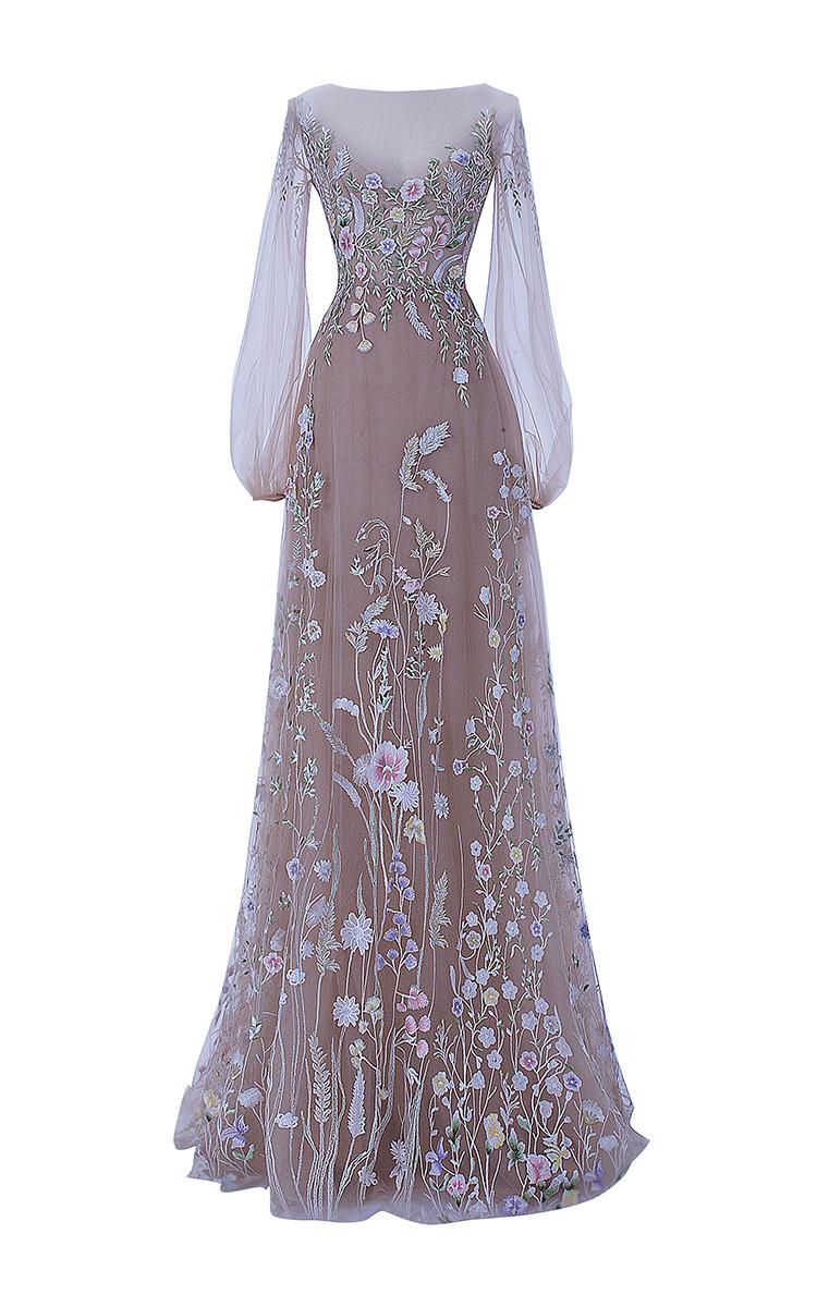 The Belle Blossom Fairy Dress By Hamda Al Fahim Moda