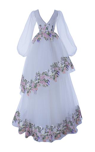 Medium hamda al fahim ivory the goddess enchanted gown