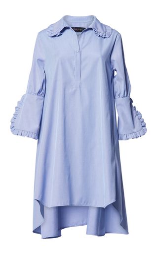 Medium romance was born blue concerto frill shirt dress