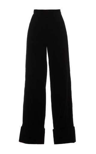 Medium djaba diassamidze black gueorgui velvet pants